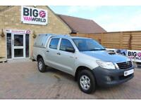 2013 TOYOTA HI-LUX HL2 4X4 D-4D DOUBLE CAB WITH TRUCKMAN TOP PICK UP DIESEL