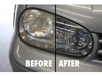 Headlight Restoration Services-We make your headlights new