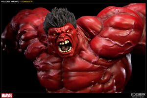 Sideshow Red Hulk comiquette Statue