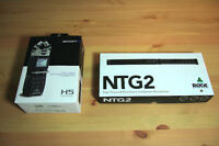 Audio Gear for Video! Zoom H5 & Rode NTG-2
