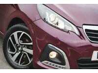 2018 Peugeot 108 1.2 PureTech Allure 3dr Hatchback Petrol Manual