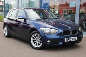 2012 BMW 1 SERIES 116d SE Step Auto GBP30 TAX, BT and 16andquot; ALLOYS