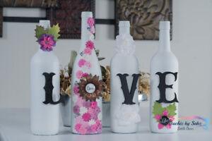 Decorated Bottle Decor