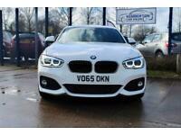 2015 62 BMW 1 SERIES 2.0 125D M SPORT 5D 221 BHP DIESEL