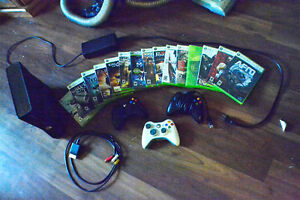 XBOX 360 + GAMES FOR SALE (Price is for the whole bundle)