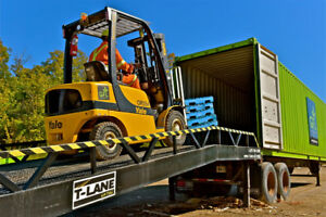 Ramp Rental - Portable Loading Dock, Eqp Loading & Ground 2 Dock
