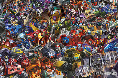 TRANSFORMERS - CHARACTER COLLAGE POSTER 24x36 - 241397