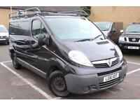 2011 Vauxhall Vivaro 2.0CDTI [115PS] Van 2.7t Diesel black Manual