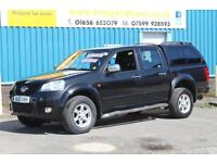 2013 GREAT WALL STEED 2.0 TD SE 4X4 DOUBLECAB DIESEL MANUAL PICK UP, 1 OWNER, FU