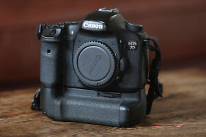 Canon 7D and battery grip