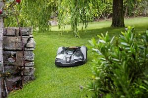 Husqvarna Automower - a Roomba for your lawn.