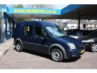 2011 60 FORD TRANSIT CONNECT T230 1.8 TDCI HIGH ROOF CREW VAN DOUBLE CAB DIESEL