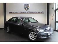 2009 09 MERCEDES-BENZ C CLASS 1.6 C180 KOMPRESSOR BLUEEFFICIENCY SE 4DR AUTO 156