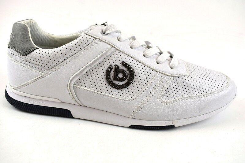 Bugatti Herren Sneaker Weiß in der Gr. 42