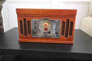 Crosley Retro Stereo and Turntable