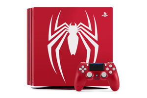 Looking for the PS4 Pro Spider-Man Console