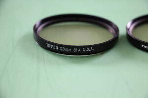Camera Lens Filters - all in Excellent Condition