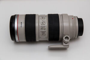 Canon 70-200mm f/2.8 L IS USM Lens