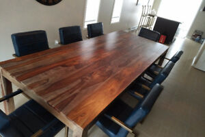 """Superb kitchen table exotic rosewood, 110"""" x 47"""""""