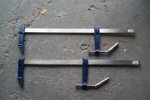 """METAL """"F"""" CLAMPS"""