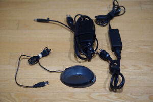 LAPTOP CHARGERS & MOUSE