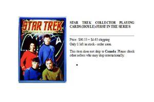 Jeu de cartes de Star Trek