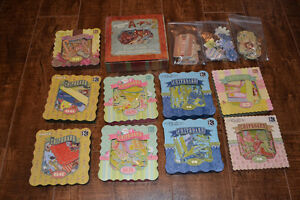 Scrapbooking - Lot de chipboard