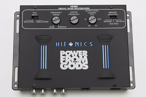 Hifonics HDBR Digital Bass Driver Restoration