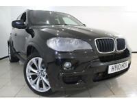 2010 10 BMW X5 3.0 XDRIVE30D M SPORT 5DR AUTOMATIC 232 BHP DIESEL