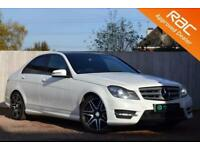2012 62 MERCEDES-BENZ C CLASS 2.1 C200 CDI BLUEEFFICIENCY AMG SPORT PLUS 4D 135