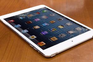 iPad glass repair, iPad air, iPad pro  iPad mini screen repair