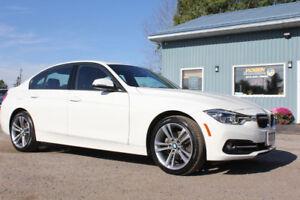 2018 BMW  330i xDrive | NAV | Sunroof | Leather | Warranty!