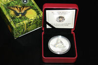 2013 Canada Butterfly Silver $20 Ounce Coin x 2 Signed