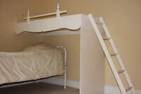 Custom made bunk bed  - second level bed.