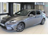 2014 63 LEXUS IS 2.5 300H F SPORT 4D 220 BHP