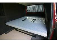 FULL WIDTH ROCK AND ROLL BED UPHOLSTERED