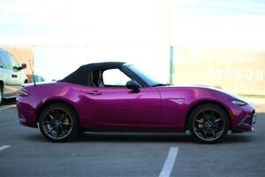 Flashing Purple, One & Only in Great Vancouver, 2016 Mazda MX-5