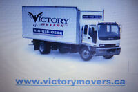 VICTORY MOVERS  - Reliable Affordable Moving   416-616-0592