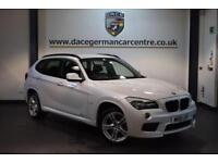 2011 61 BMW X1 2.0 XDRIVE20D M SPORT 5DR AUTO 174 BHP DIESEL