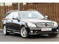 2008 MERCEDES C-CLASS C220 2.1CDI SPORT BRABUS POWER UPGRADE 5DR ESTATE DIESEL