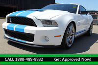 2010 Ford Mustang Shelby GT500 -RARE! 540HP 0-60mph in 4.6 secs.