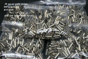 .38 cal nickle plated brass