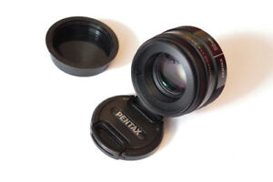 Pentax 50mm F1.8 and 35mm F2.4 / MINT condition