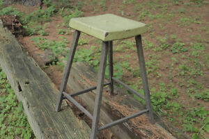 ANTIQUE HAND MADE FUNKY STOOL