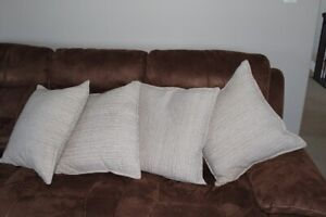 Decorative Feather Couch Pillows