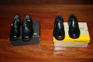 BOYS DRESS SHOES-SIZE 11M and 12M BRAND NEW NEVER USED WITH BOX
