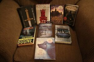 Eight Brand New Fiction Books - Hardcover