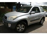 Toyota Rav4 Silver 3 Door Low Mileage Finance Available