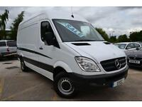 2013 Mercedes benz Sprinter 313 CDI MWB HIGH ROOF 3.5t Van 5 door Panel Van