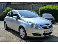 Vauxhall Corsa 1.3CDTi 16v 75ps a/c EcoFlex 2010 Club, 35K MILES, FSH, NEW MOT